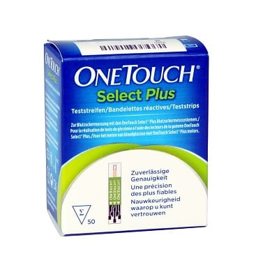 One Touch Select Plus Teste de glicemie,50buc